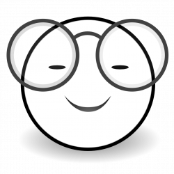 Smiley Face Clip Art Black And White   Clipart Panda - Free ...
