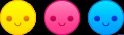 Emoticons Happy Faces Clip Art - Sweet Clip Art
