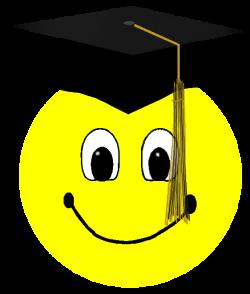 Graduation Smiley Face Clipart
