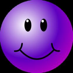 Purple Smiley-Face | Purple Smiley Face clip art | Purple ...