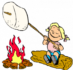 Download making smores clipart S'more Clip art | Smore ...
