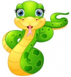 Cartoon Snake Clipart | Zoo Safari Jungle Rainforest Zebras ...