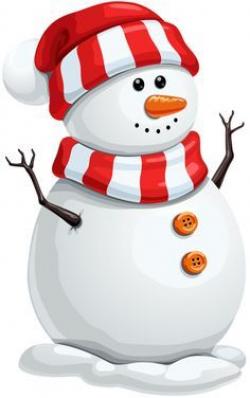 Resultado de imagen de christmas snowman clipart   letter s ...