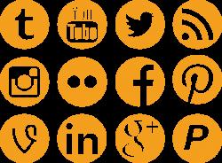 Social Media Icons by Colourfy-Design on DeviantArt