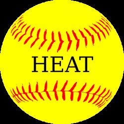 Softball Yellow Heat Clip Art at Clker.com - vector clip art online ...