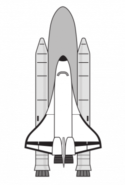 Clipart - NASA Space Shuttle