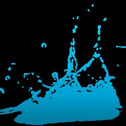 Gotas De Agua Splash Clipart Background, Dibujos Animados De Agua ...