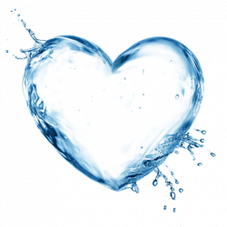 corazon agua splash - Sticker by daniela_anabel08