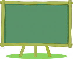 Cartoon Blackboard Download - Small green chalkboard 658*537 ...