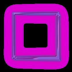 box square neon purple purplesquare freetoedit...