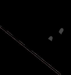 OnlineLabels Clip Art - Wavy Checkered Flag