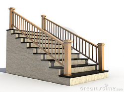 Staircase Handrail Clipart
