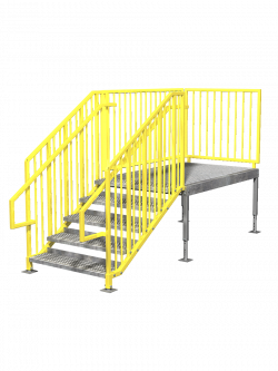 Portable Stairs - Right Entry - ErectaStep