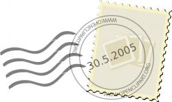 Postage Stamp clip art Free vector in Open office drawing svg ( .svg ...