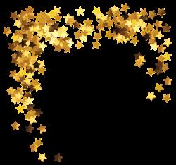 Gold Stars Decoration PNG Clipart Picture | PNG MIX | Pinterest ...