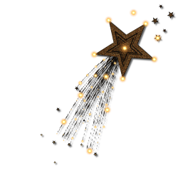 Shooting Stars Clipart On Transparent Background - ClipartUse