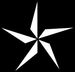 western silhouette clip art free | Texas Star clip art - vector clip ...
