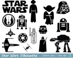Star wars clipart | Etsy