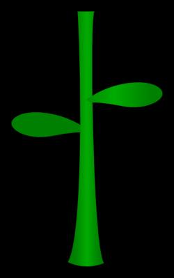 Flower Stem Clip Art at Clker.com - vector clip art online, royalty ...