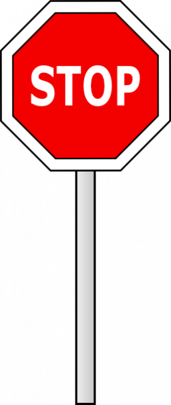 Stop Sign Clipart Black And White | Clipart Panda - Free Clipart Images