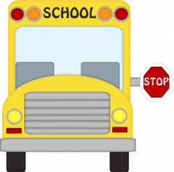school bus stopping clipart black and white - Clipground