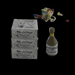 Online Wedding Confetti Popper -3 Box (216Pcs)