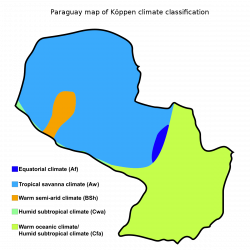 Climate of Paraguay - Wikipedia