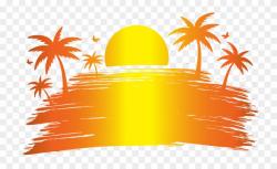Sunset clipart hawaiian sunset, Sunset hawaiian sunset ...