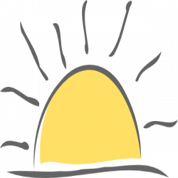 Sunset Clip Art at Clker.com - vector clip art online, royalty free ...