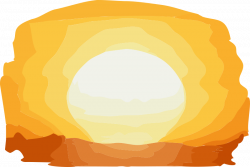 28+ Collection of Sunset Clipart Transparent | High quality, free ...