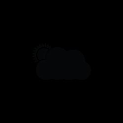 Cloud, icloud, services, sunset, sunrise icon