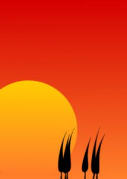 Sunset Background Clip Art at Clker.com - vector clip art ...