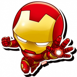 Chibi Iron Man Magnet - ND-95311 from Superheroes Direct