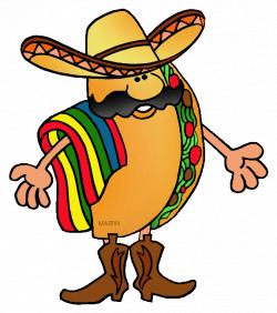 Free Mexico Clip Art By Phillip Martin Taco | Taco Party ...