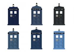 Doctor Who TARDIS vector TARDIS Door | Environments in 2019 ...