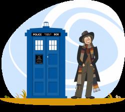 The Fourth Doctor - Tom Baker by dunwich7 on DeviantArt