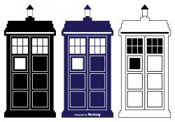 Police Box TARDIS vectors Doctor Who TARDIS Door | Doctor ...