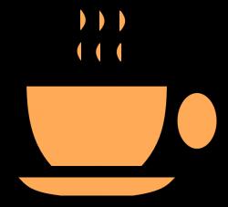 Orange Tea Cup Clip Art at Clker.com - vector clip art online ...