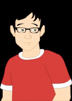 Clipart - Teen boy