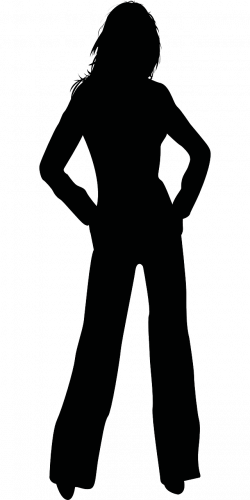 silhouette teen clipart png - Clipground