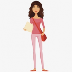 Free Teenage Girl Clipart Cliparts, Silhouettes, Cartoons ...
