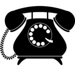 old fashioned telephone clipart - Google Search | crafts | Pinterest ...