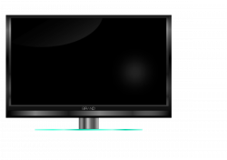 Clipart - LCD, LED, Plasma TV. TV de plasma, LED, LCD.