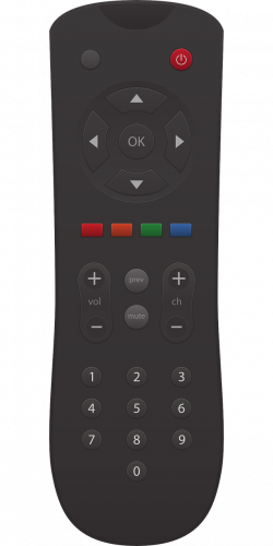 Television Clipart tv remote - Free Clipart on Dumielauxepices.net