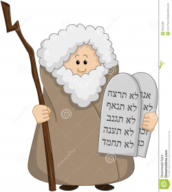 Images For > Moses And The Ten Commandments Clipart | Ten ...