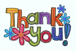 Thank You Colorful Clipart