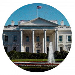 White House Round Puzzle   The White House Historical Association