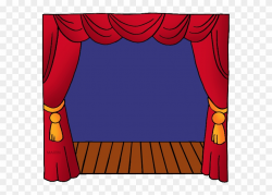 Stage - Theater Clipart - Png Download (#231329) - PinClipart