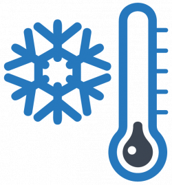 WINTER, SNOWFLAKE AND THERMOMETER, CLIP ART PRINTABLE | CLIP ART ...