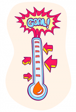 how to make a fundraising thermometer free fundraising thermometer ...